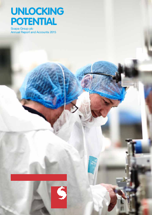 Scapa Group Plc annual report 2015