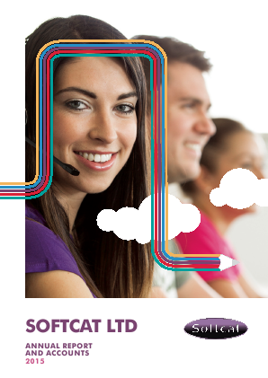 Softcat annual report 2015