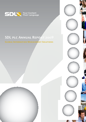 SDL annual report 2009