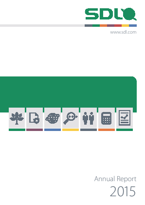 SDL annual report 2015