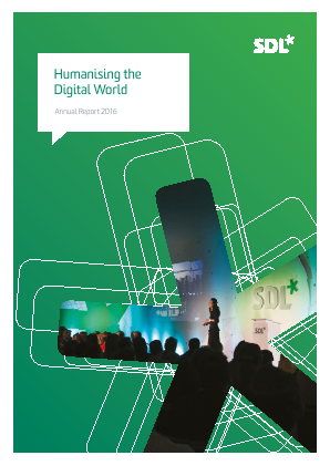 SDL annual report 2016