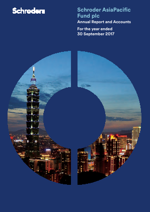 Schroder Asia Pacific Fund annual report 2017