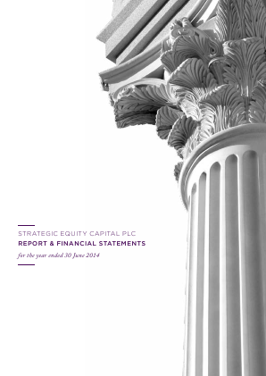 Strategic Equity Capital annual report 2014