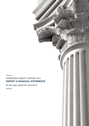 Strategic Equity Capital annual report 2015