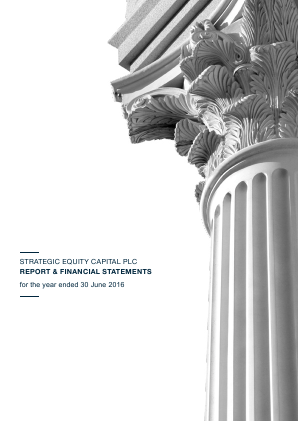 Strategic Equity Capital annual report 2016