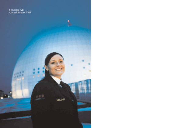 Securitas annual report 2003