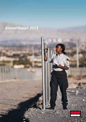 Securitas annual report 2013