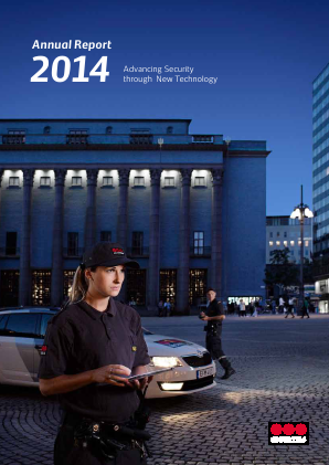 Securitas annual report 2014
