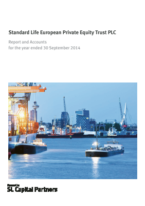 Standard Life European Private Equity Trust annual report 2014