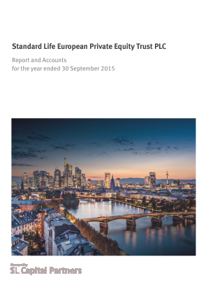 Standard Life European Private Equity Trust annual report 2015