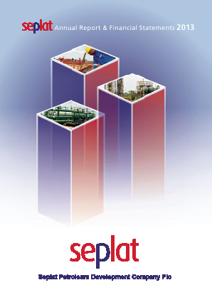 Seplat Petroleum annual report 2013