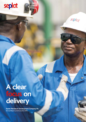 Seplat Petroleum annual report 2016
