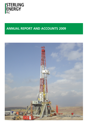 Sterling Energy annual report 2009