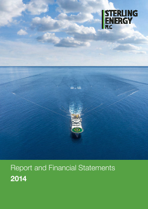 Sterling Energy annual report 2014