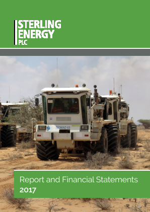 Sterling Energy annual report 2017
