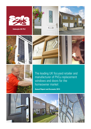 Safestyle UK Plc annual report 2014