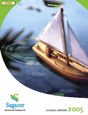 Sagicor Financial Corp annual report 2005