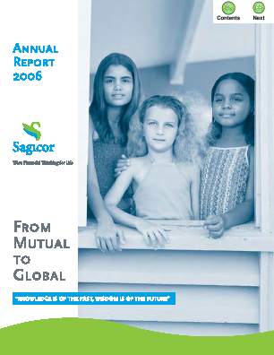 Sagicor Financial Corp annual report 2006