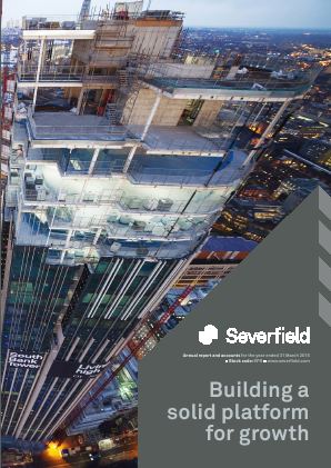 Severfield Plc annual report 2015