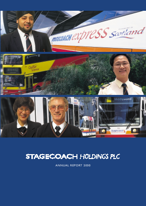 Stagecoach Group annual report 2000