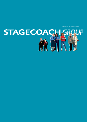 Stagecoach Group annual report 2004