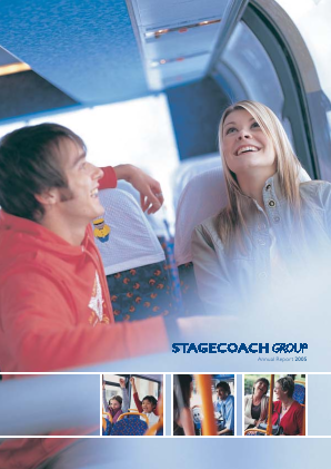 Stagecoach Group annual report 2005
