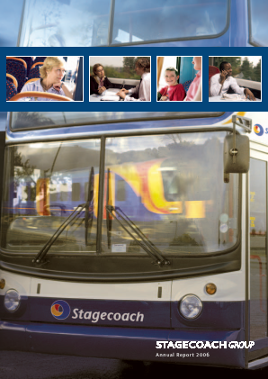 Stagecoach Group annual report 2006