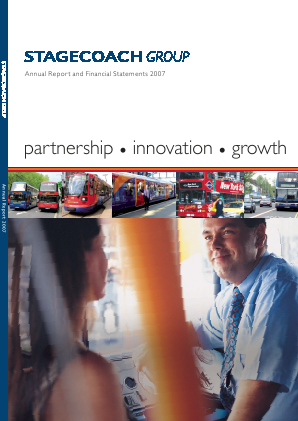 Stagecoach Group annual report 2007