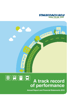 Stagecoach Group annual report 2010