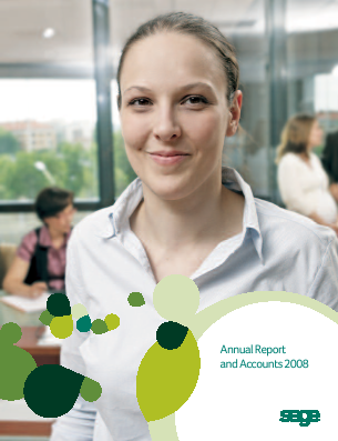 Sage Group annual report 2008