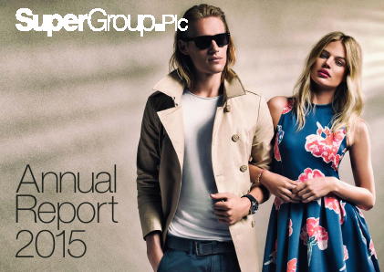 Superdry (previously Supergroup) annual report 2015