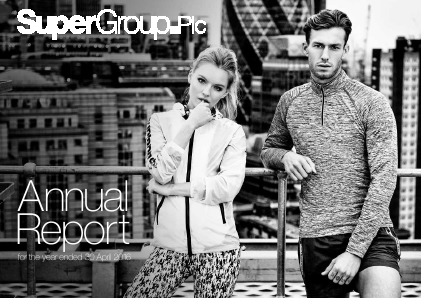 Supergroup Plc annual report 2016