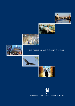 Shore Capital Group annual report 2007