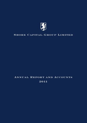Shore Capital Group annual report 2011