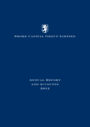 Shore Capital Group Ltd annual report 2012