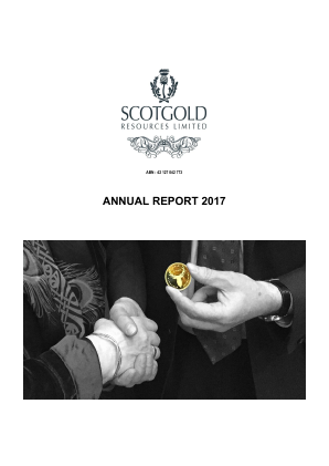 Scotgold Resources annual report 2017
