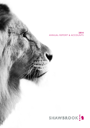 Shawbrook Group Plc annual report 2014