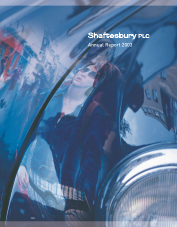 Shaftesbury Plc annual report 2003