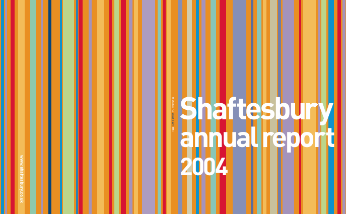 Shaftesbury Plc annual report 2004