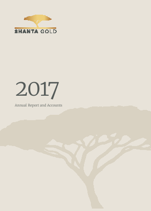 Shanta Gold annual report 2017