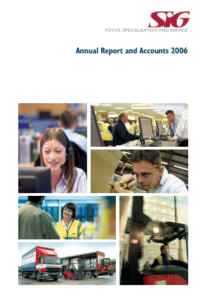 SIG annual report 2006
