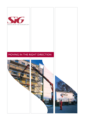 SIG annual report 2011