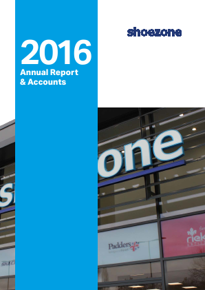 Shoe Zone Plc annual report 2016