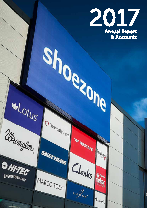 Shoe Zone Plc annual report 2017