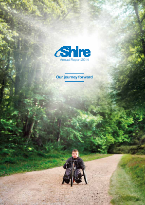 Shire Plc annual report 2014
