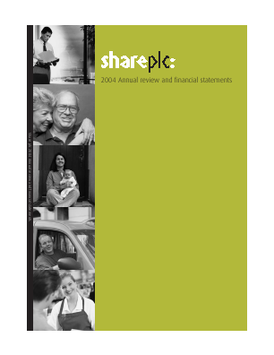 Share Plc annual report 2004