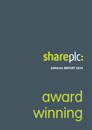 Share Plc annual report 2014