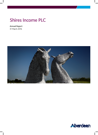 Shires Income annual report 2016