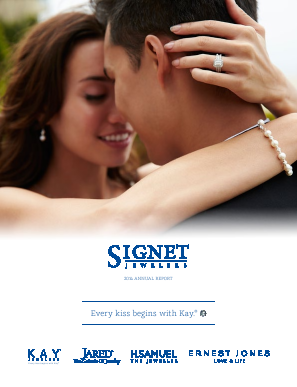 Signet Jewellers annual report 2014