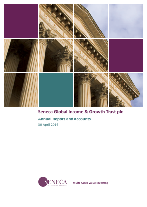 Seneca Global Income & Growth Trust annual report 2016